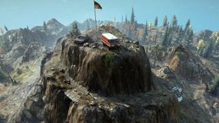 Stone Mountain Challenge Map
