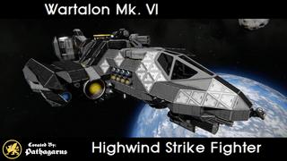 Wartalon Mk. VI [Highwind Strike Fighter]