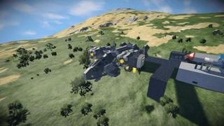 Scythe X7 Gunship