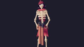 Skeleton jumper
