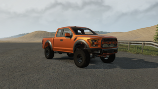 Ford Raptor Race Truck
