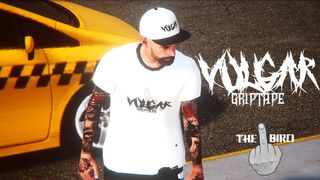 "Vulgar Grip - ""The Bird"" Gear Drop"