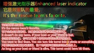 Enhanced laser indicator