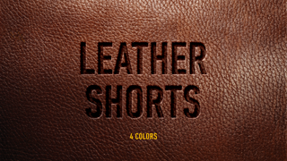 Studio Four - Leather Shorts (4 Colors)