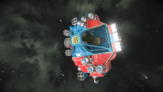 Teeny-1 One Person Combat Shuttle Mk 2