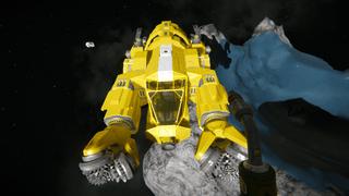 Damaged hydrogen miner