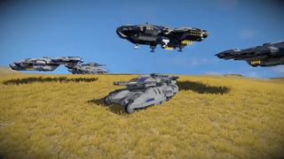 RCSP vangard tank