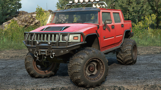 Hummer H2 Mud modification
