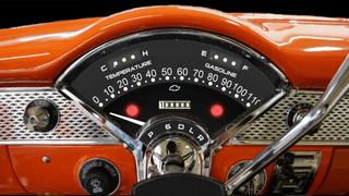 1955 Bel air dash