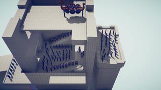 Viking Faction Simulation Battle
