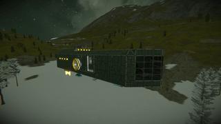 Small survival ship