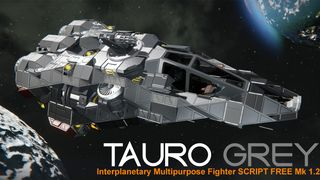 Tauro Grey Interplanetary Multipurpose Fighter