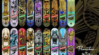 Primitive Skateboards Pro Animals Series Bundle