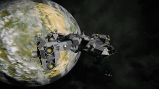 Deep space cruiser