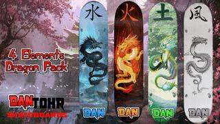 4 Elements Dragon Pack