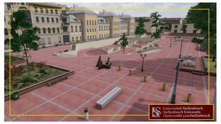 Stellenbosch Campus - Red Square