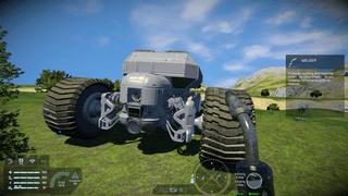 'Mammoth' mining vehicle