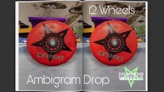 Dishonour Wheels Ambigram Drop