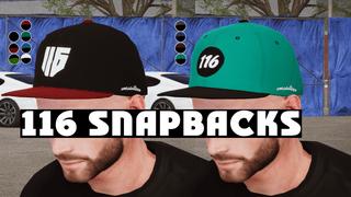 116 Snapback hats