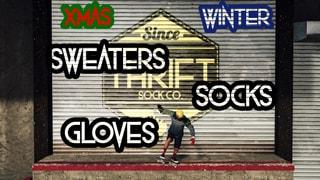 THRIFT - Winter - Gloves - Sweaters - Socks - Xmas