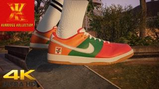 Kurbdogg Kollection-Nike x 7-11 Dunk Lows