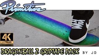 "Primitive ""Dragon Ball Z"" Griptape Pack (HD)"