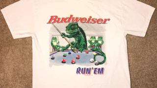 """90s BudWeiser """"RUN'EM"""" T-Shirt"""