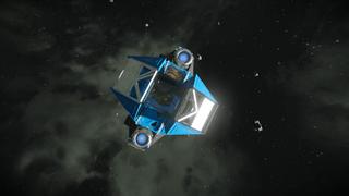 Exploration ship