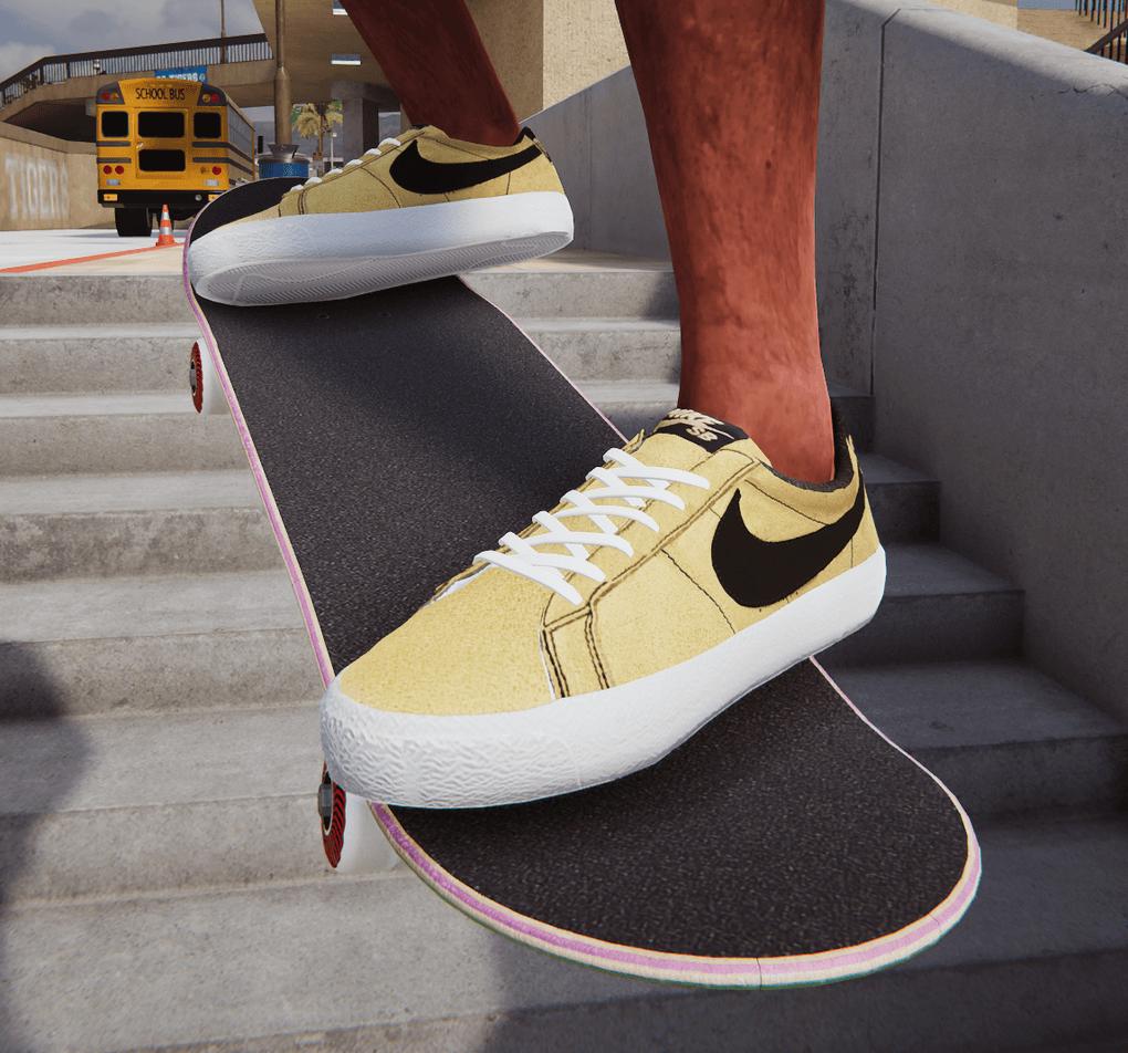 Nike SB Blazer Pack mod for Skater XL