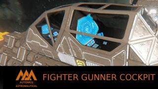 "MA Fighter Gunner ""seat"""