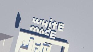 white maze