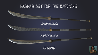 [Skin] Naginata Set
