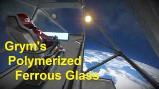 Gryms Polymerized Ferrous Glass