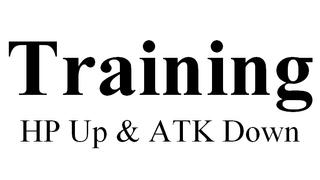 Training-para_HpUP_AtkDWN