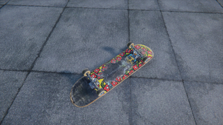 Used Krooked Mark Gonzales Deck