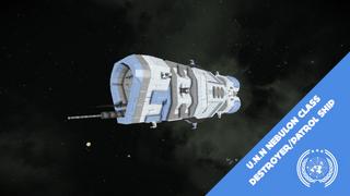 (UNN) Nebulon Class Destroyer - The Expanse