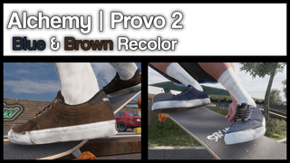 Alchemy | Provo 2 Blue & Brown Recolor