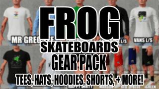 Frog Skateboards Gear Pack (Decks, Tees, Hats+)