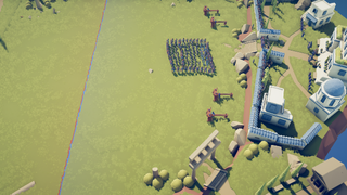 testudo formation outside roman fort