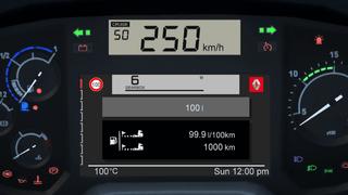 Renault T ETS2 Smartphone Dashboard
