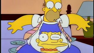The Last Temptation of Homer The Simpsons