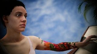 Female Flower Tattoo Skinpack