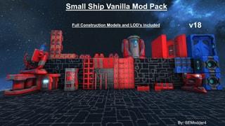 Small Ship Vanilla Mod Pack