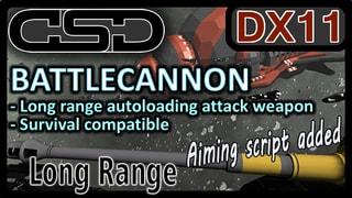 CSD Battle Cannon