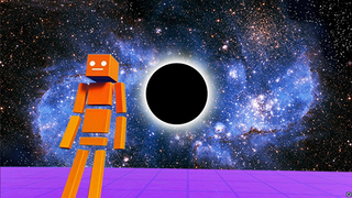 Get to the Black Hole!
