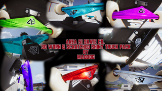Area 51 Skate Co - Shiny & Worn TRUCK pack