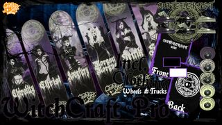 CreepyCat SkateBoards - WitchCraft Pro Series