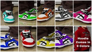 Down Nuke 9 Colors + 9 Hoodies