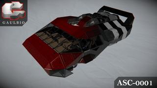 Gaulbio ASC-0001 'Scarlet Dolphin'