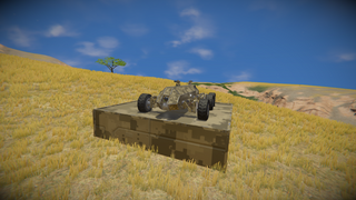 Buggy drone sand rover